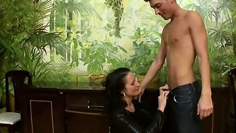 Dominant Bisexual Couple And Their Male Sex Toy