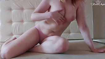 Girl With Hairy Pussy Passionate Fingering And Orgasm Closeup