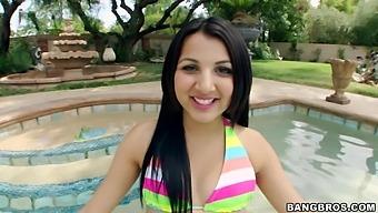 Interracial Outdoors Fucking With Hot Ass Latina Gf Zarreena