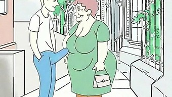 Fucking Fantasies About Grandma! Porn Cartoon