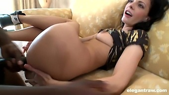 Cool Babe Aliz Gets Her Pussy Stuffed With A Huge Black Cock