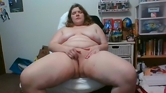My Vibrator Died So I Rode The Dildo - I Squirted So Hard I Clicked End