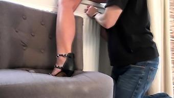 Madame Carlas Ass Cleaner!