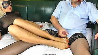 Best Top-20 Cumshot Compilation On Cum Nylon Soles, Feet, Toes In Pantyhose, Stockings, High Heels