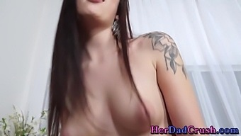 Stepdaughter Teen Gets Face And Mouth Spermed