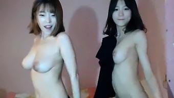 Sexy Asian Dancing Girls