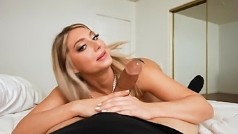 Busty Babe Kayley Gunner Knows How To Please A Delicious Cock