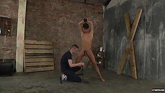 Handsome Gay Man Gets His Ass Fucked And Dick Stroked By A Perv