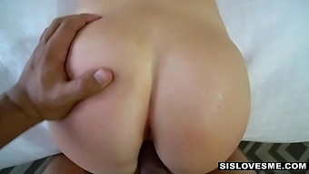 Fat Big Cock Penetrates Inviting Pussy Of Nicely Shaped Girlfriend Ashley Red