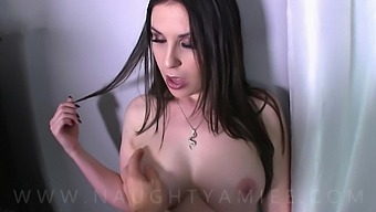 Making My Hot Step Aunt With Huge Tits Mine Amiee Cambridge