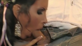 Lady Godiva Shay Sights Takes Warm Load All Over Her Big Tits