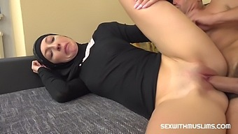 Chanel Kiss Muslim Thanks Her Husband With Amazing Bang - Hard Sex