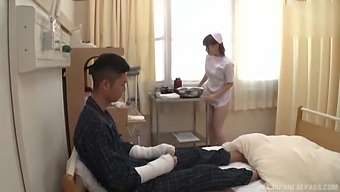 Dirty Asian Chick Rui Hasegawa Eats Ass Of Her Kinky Patient