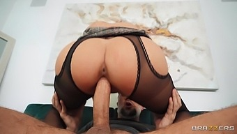 Energized Chick Sits On Tip And Rides Man'S Cock In Crazy Modes