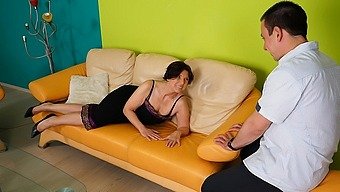 Horny Housewife Fucking Her Toy Boy - Maturenl