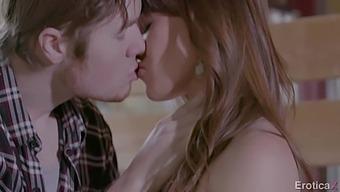 Cowgirl Alison Rey Is Masturbating Pussy Before Sex With Her Farmer Boyfriend