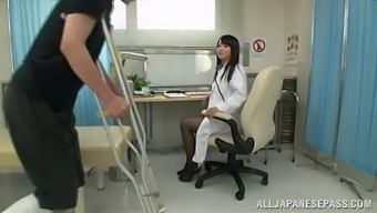 Kinky Games On The Hospital Bed With Adorable Doctor Ayaka Tomoda