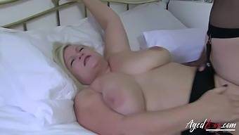 Agedlove Hot Mature Lacey Starr Tries Big Black Cock