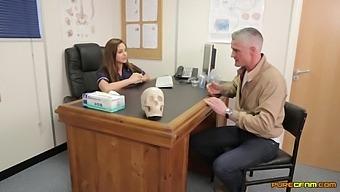 Nurses Enjoy Soft Cfnm Oral Porn With A Random Man