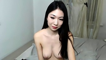 Beauty Small Tit Amateur Teen Masturbating Her Shaved Pussy