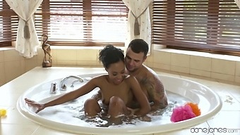 Bathroom Sexual Fun With A Black Doll On Fire