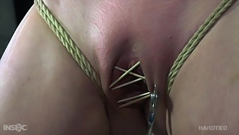Perfectly Submissive Babe Cherry Torn Enjoying Some Rough Bdsm Session