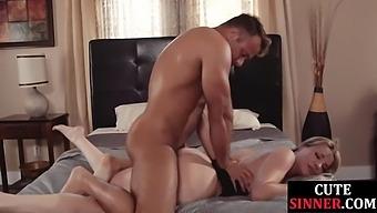 Curvy Milf Sucks Before Sex During The Kinky Exchange