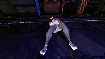 Lady Dimitrescu Riding Dildo And Cum (Resident Evil 8: Village) [3d Hentai]