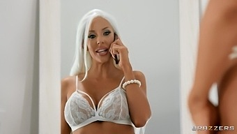 Premium Cougar Slams Man'S Dick In Both Her Holes