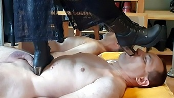 A Visit To Mistress Morgane Trampling In Boots