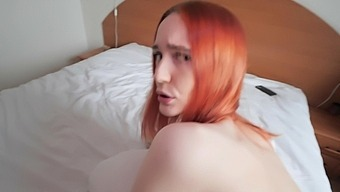 Redhead Hottie Gets Her Delicious Vagina Smashed Hard In Pov