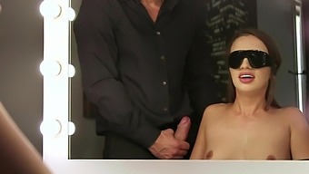 Blind Folded Whore Gets The Juicy Dong Harder Than Expected
