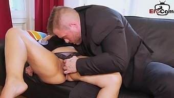 German Business Milf With Big Tits Date