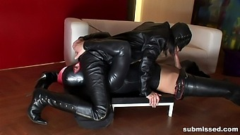 Lovely Chick Virginia Makes A Kinky Guy Happy By Sucking On His Cock
