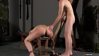 Rough Spanking And Ass Eating Lead To Balls Deep Anal Sex