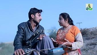 Sadaf Khan On Bike Ride With Aunty
