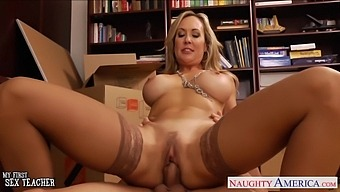Busty Milf Fucks Her Colleague And That Woman Has A Sexy Athletic Body