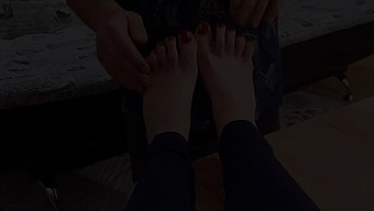 Her Feet Are The Best Birthday Gift