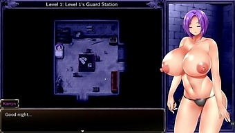 Karryn'S Prison [Rpg Hentai Game] Ep.8 The Monster Orc Fell In Love With The Huge Tits Warden Girl