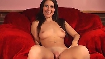 Sweet Girl Jess West Loves Drilling Her Tight Pussy With A Dildo
