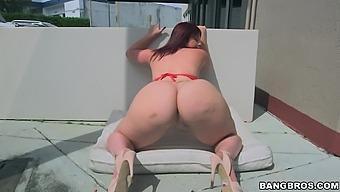 Interracial Anal Sex At Home With Big Butt Slut Virgo Peridot