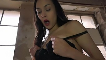 Gay Dude Enjoys Getting Pegged By Sexy Brunette Ashely Ocean