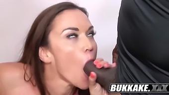Alyssa Sucks Then Swallows Huge Loads Of Cum With Alyssa Reece