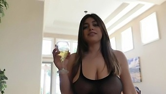 Busty Babe Ella Knox Doesn'T Need More Than His Delicious Dick