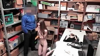 Dude Bangs Shoplifter Talis Tight Pussy