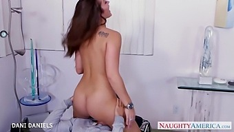 Provocatively Beautiful Woman Dani Daniels Gets Laid With Her New Lover