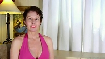 Naughty Mature Lady Talks Dirty About Anal Fucking Then Fucks Her Pussy