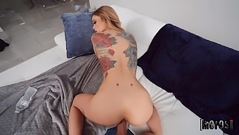Tattooed Babe Kali Roses Gets A Mouthful Of Cum After Great Pussy Fuck