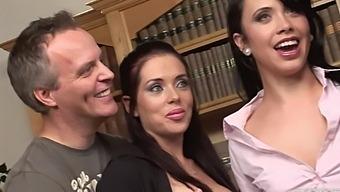 Stunning Hannah Shaw Sharing Some Big Cocks With Sexy Kaia Kane