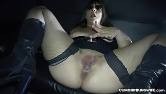 Slutwife Creampied By Many Strangers At The Adult Theater